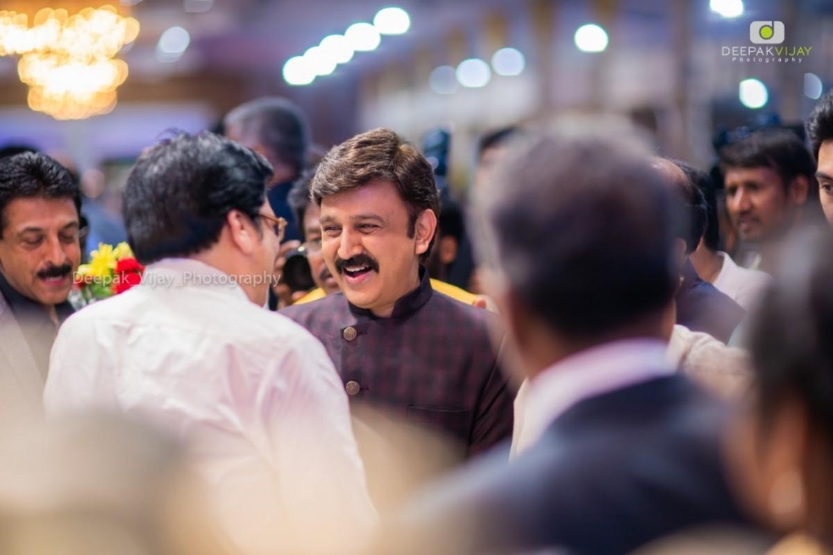 Ramesh Arvaind at Ravichandran's Wedding Reception