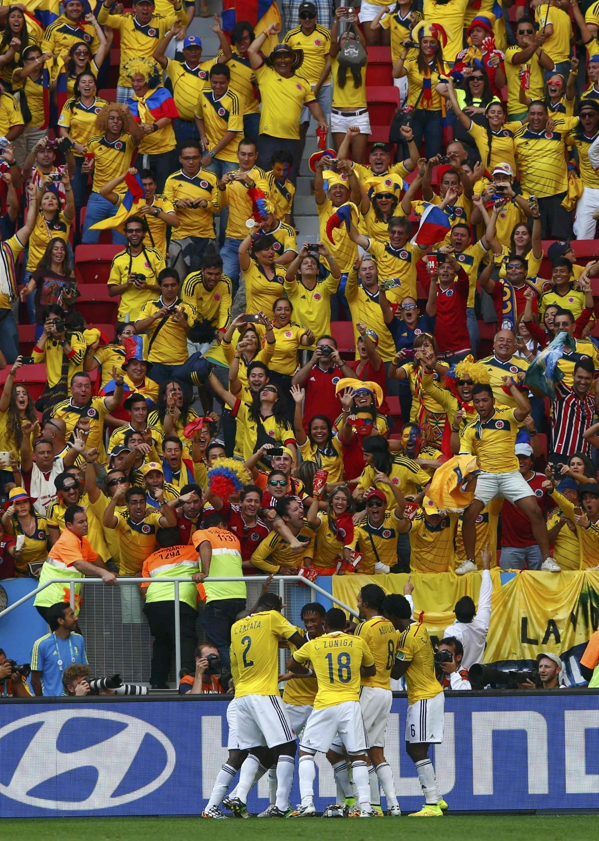 Colombia vs Ivory Coast