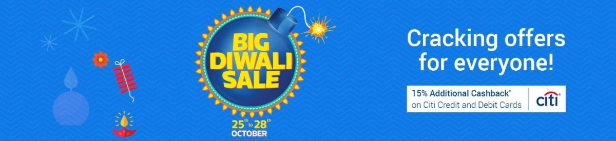 Flipkart Big Diwali sale Day 2 offers: Micromax Vu 55-inch TV at Rs 44989 and HP All-in-On-Printer at Rs 2500