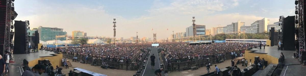 Coldplay's Mumbai concert
