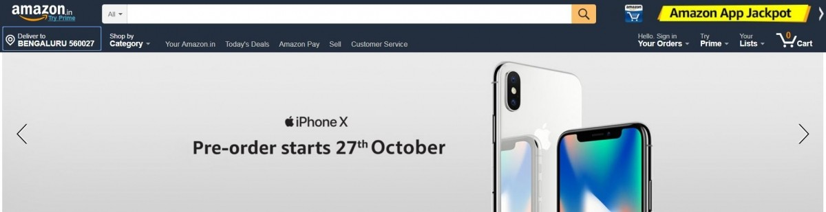 Amazon, Apple, iPhone X, pre-order, price, specifications, availability details