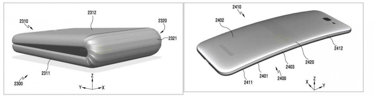 Samsung foldable phone patent, Samsung patent, Galaxy X, Flexible Electronic Device, patent, Flexible Electronic Device patent