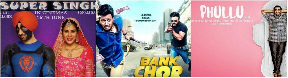 Super Singh, Bank Chor, Phullu posters
