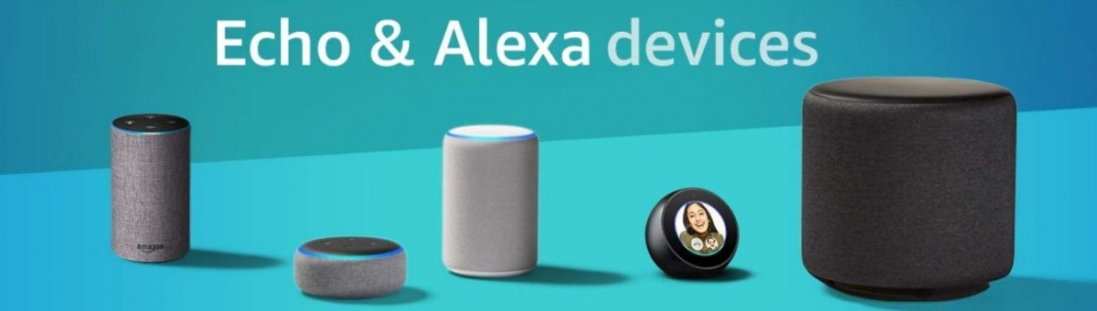 Amazon, Alexa, Echo Plus, Echo Dot, Echo Sub