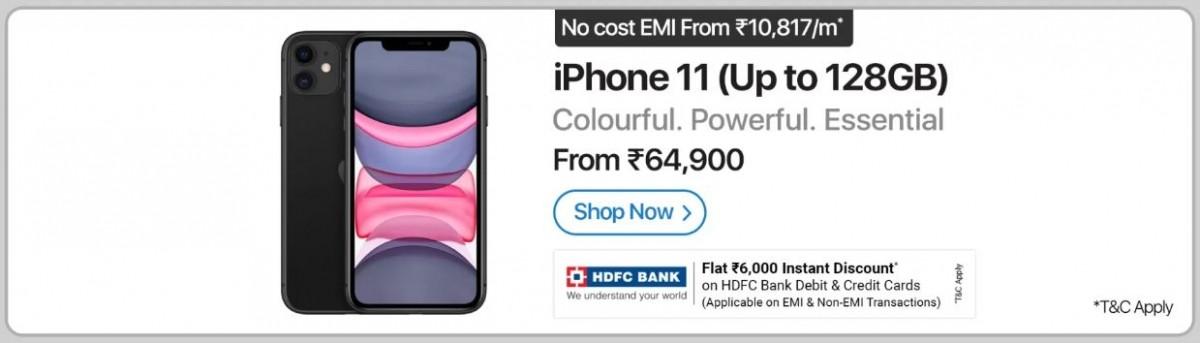 iPhone 11 offer on Flipkart