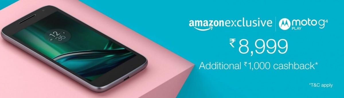 Moto G4, G4 Play get generous price cut on Amazon India