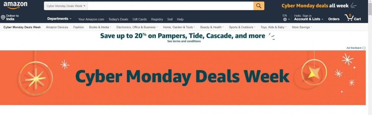 Amazon, Cyber Monday Deals,