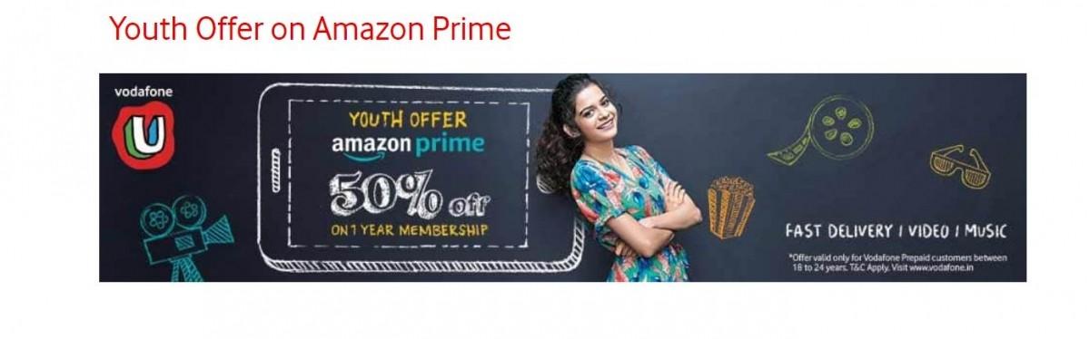 Vodafone Idea,  Amazon Prime, Youth Offer