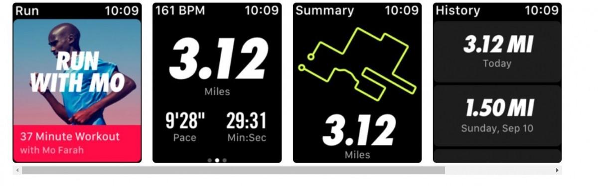 Nike  Run Club, Apple App store, fitness app, health app