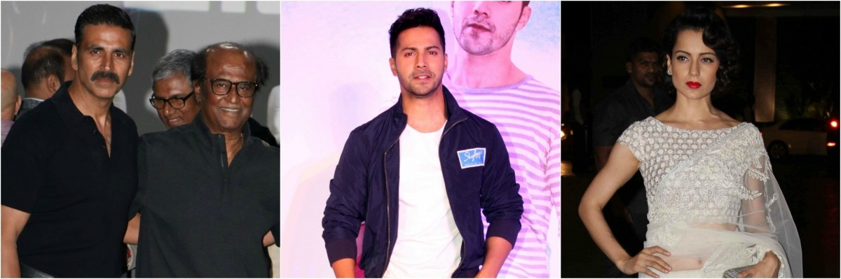 Varun Dhawan to lock horns with Akshay Kumar, Rajinikanth, Kangana Ranaut