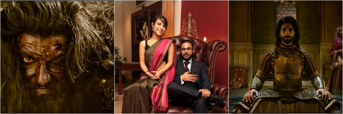 Ranveer Singh, Shahid Kapoor, Padmaavat