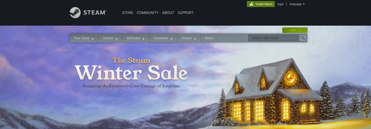 The Steam Winter Sale, Tomb raider, WWE 2019, NBA 2019