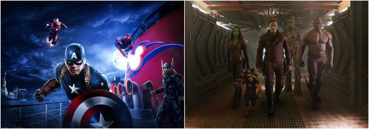 Avengers, guardians 2,
