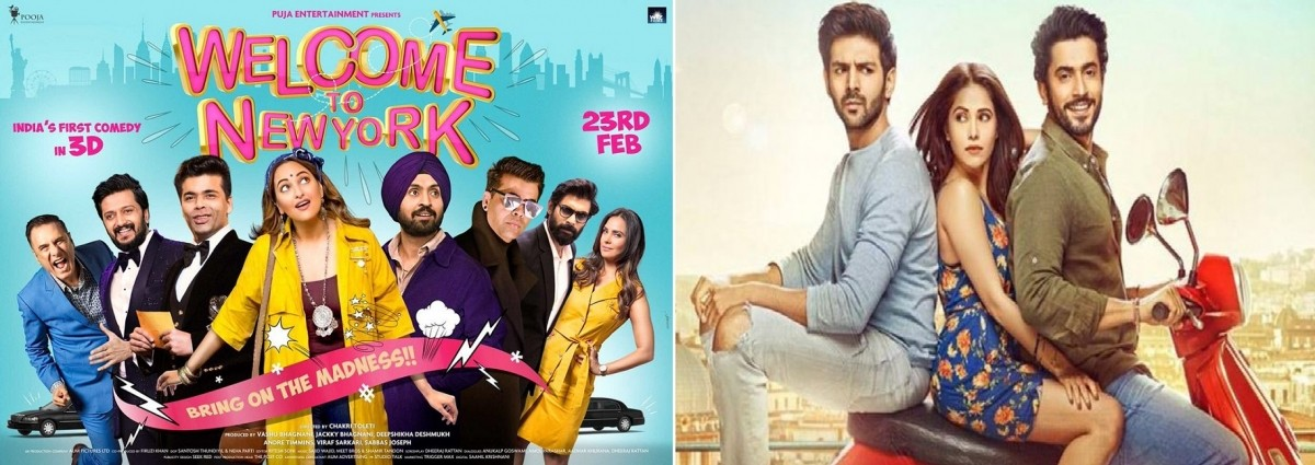 Welcome To New York Vs Sonu Ke Titu Ki Sweety Day 1 box office collection
