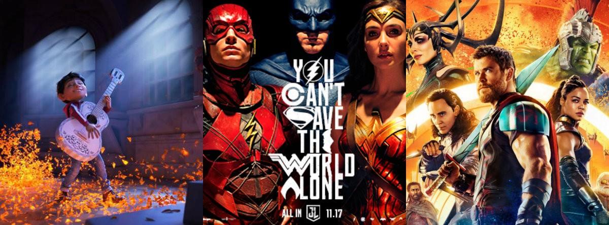 Coco, Justice League, Thor