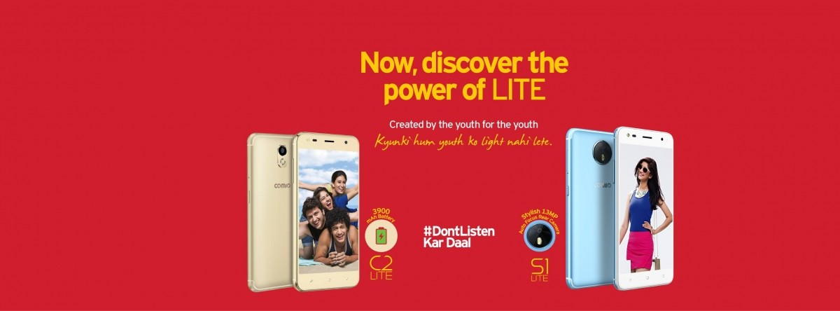 Comio launched C2 Lite and S1 Lite in India