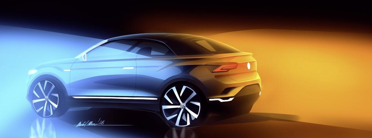Volkswagen T-Roc convertible SUV