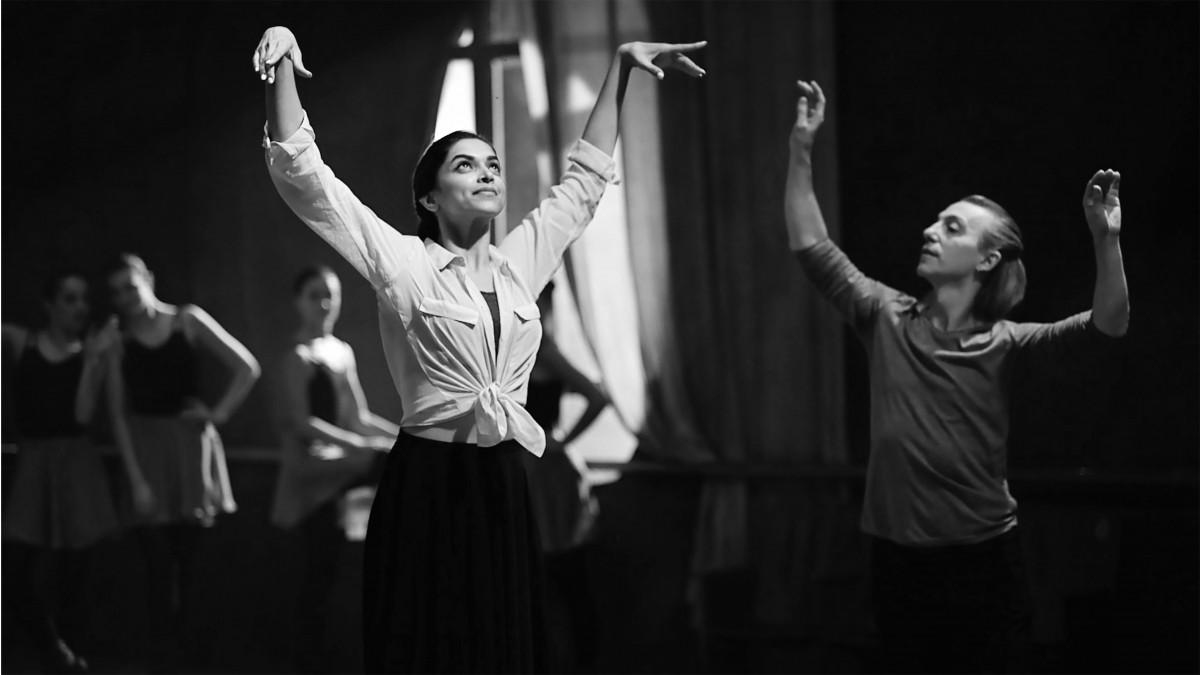 Deepika Padukone learning Ballet Dance
