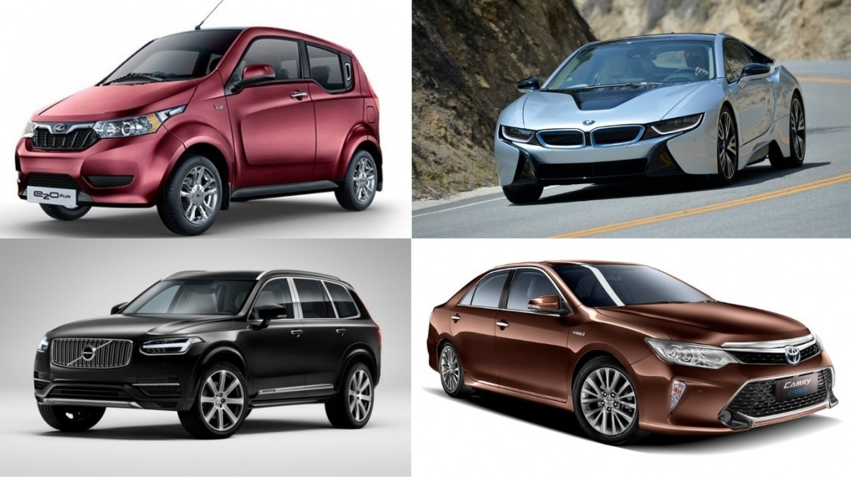 environment day special: 9 electric, hybrid cars sold in india that