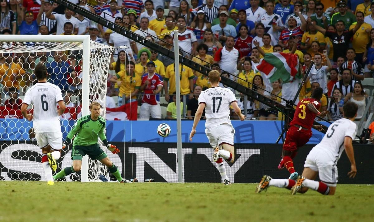 Germany v Ghana