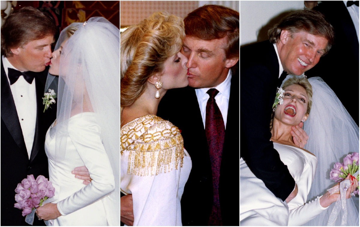 a sneak peek into donald trumps glamourous life rare and