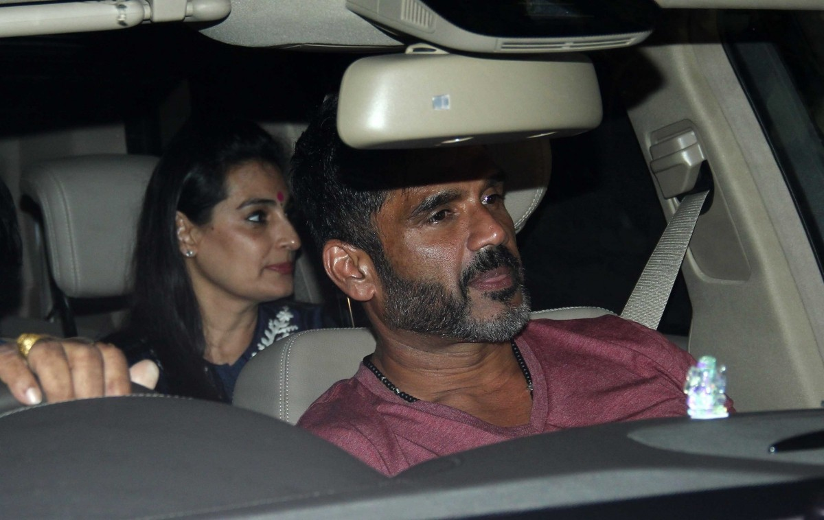 Sunil Shetty attends the special screening of