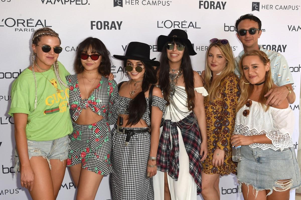 Vanessa Hudgens, Stella Hudgens, Coachella 2017, Coachella 2017 fashion,