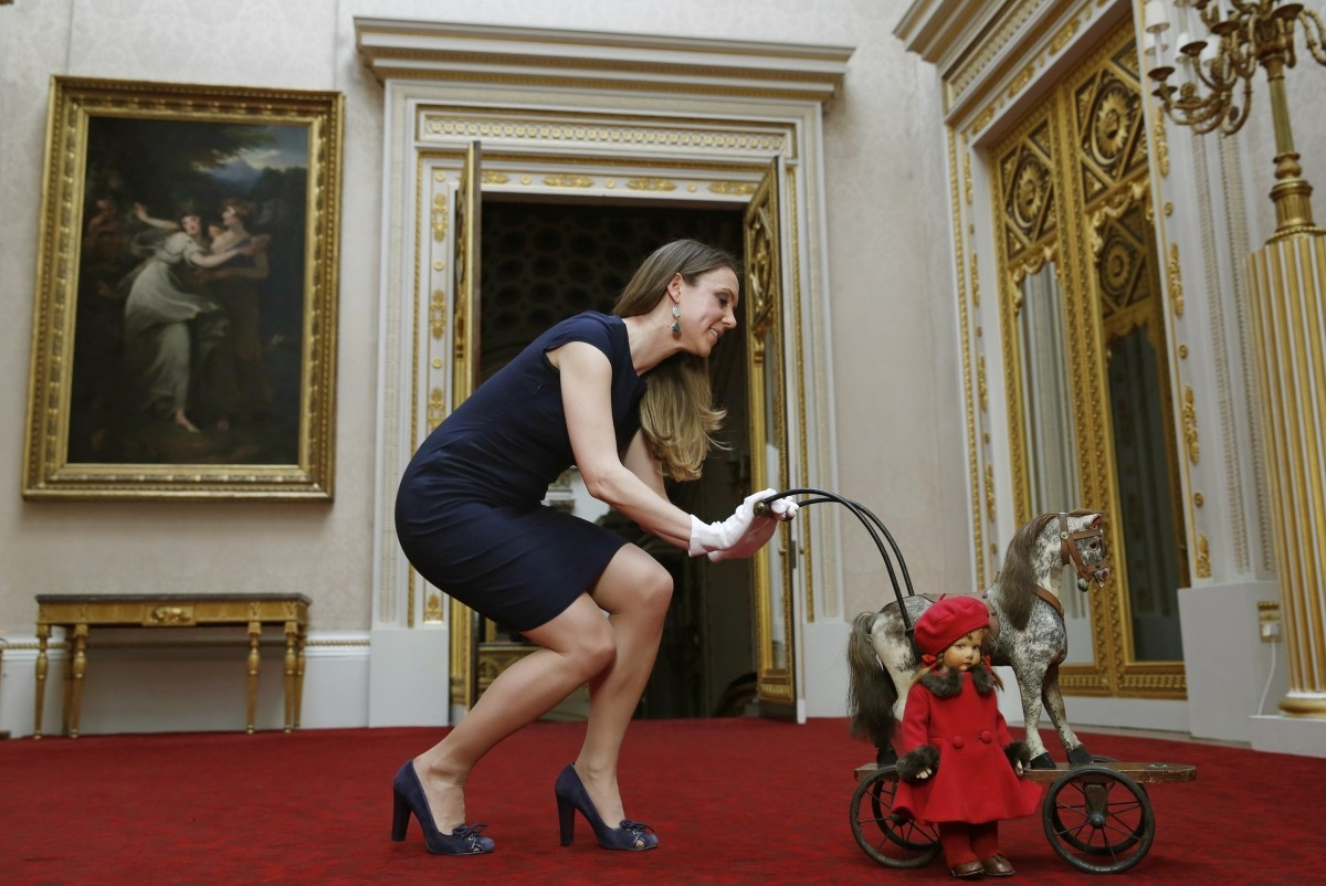 Royal Childhood Exhibition Toys Gifts Belonging To Nine