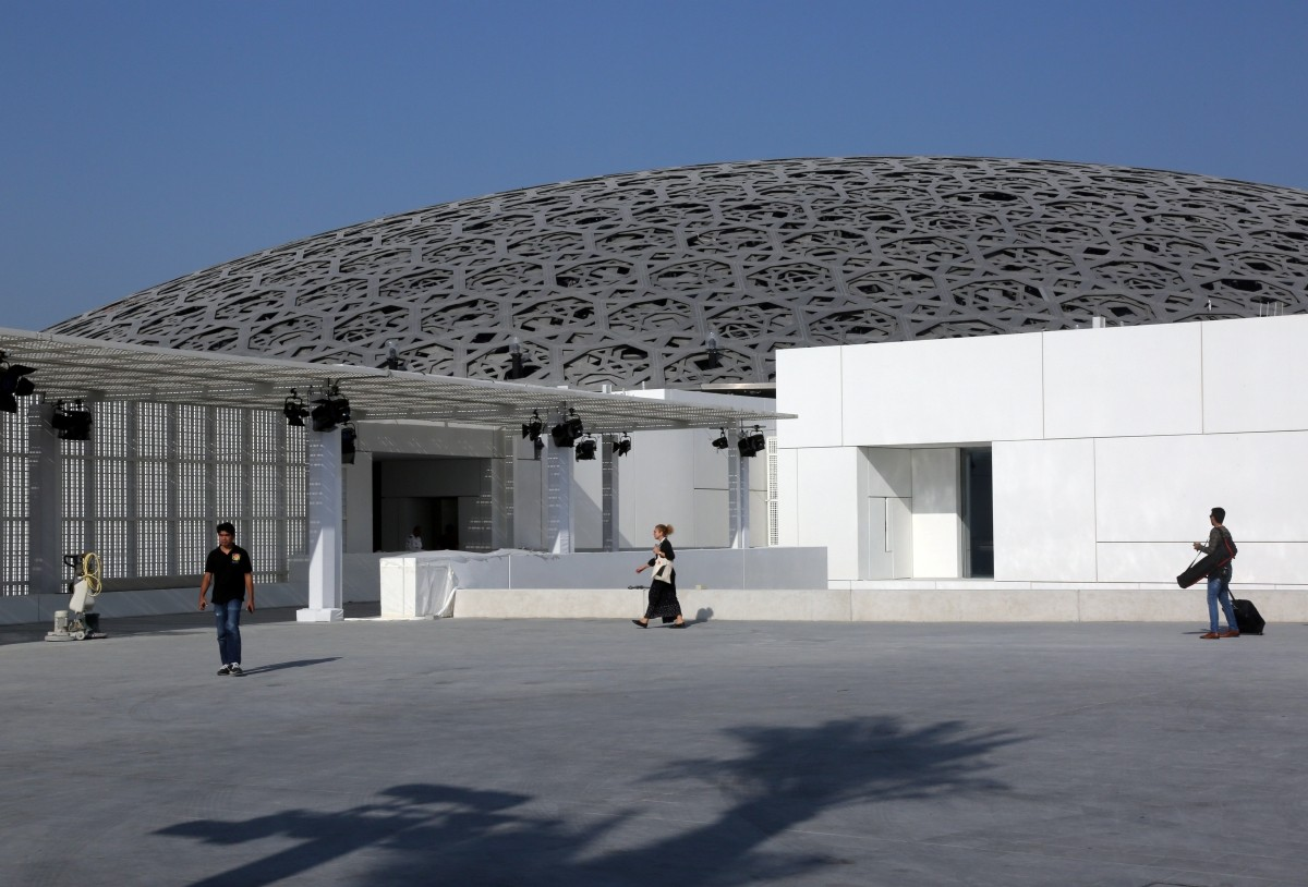 In Photos First Louvre Abu Dhabi Museum Opens Its Doors