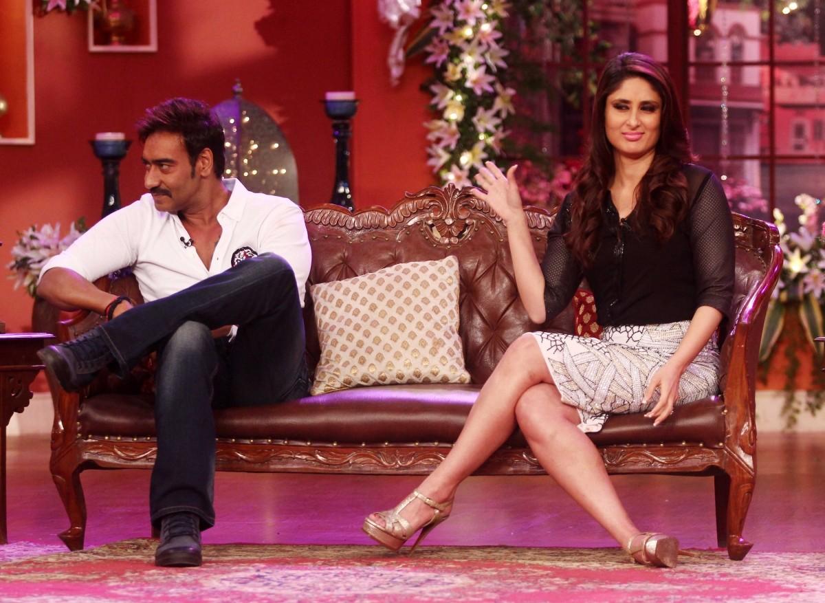 Kareena Kapoor Khan is not too pleased with Ajay Devgn