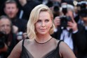 Charlize Theron suffers a wardrobe malfunction when her robe opens up while celebrating SAG nomination [Video]