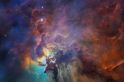 NASA releases breathtaking image depicting a star birth on Hubble's 28th anniversary