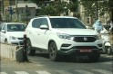 Mahindra new premium SUV, rivaling Toyota Fortuner, spied testing again [Video]