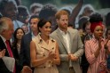 Prince Harry, Meghan Markle meet Nelson Mandela's granddaughter at London exhibition
