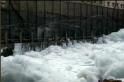 Infamous Bellandur lake in Bengaluru spews 10-foot high toxic foam