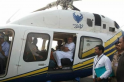 Poll official searches PM Modi's chopper, suspended by Election Commission