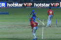 Shikhar Dhawan mocks R Ashwin; responds to 'Mankad' warning with a bizarre dance [Video]