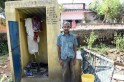 Dalit man lives in toilet with wife, 2 daughters after cyclone Fani wipes out his house in Odisha