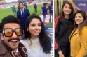 World Cup 2019: Wasim Akram photobombs Ranveer Singh's selfie; Anushka Sharma clicked with fans