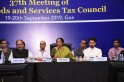 37th GST Council meeting: Rate on hotel tariffs cut, caffeinated drinks get costlier