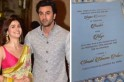 PIC: Alia Bhatt-Ranbir Kapoor's wedding invite goes viral, Alia left blushing