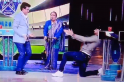 [Watch] Sourav Ganguly and Harbhajan Singh groove as Usha Uthup croons 'Senorita'