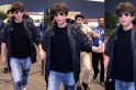 WATCH | Shahrukh Khan pushes fan at airport who tries to take selfie with him