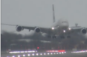 VIDEO: Etihad aircraft makes scary landing at Heathrow Airport due to Storm Dennis
