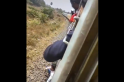 Stunt goes wrong, man addicted to TikTok falls off train. Terrifying video is viral