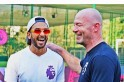 In Pictures: Ranveer Singh couldn't control his excitement after meeting football legend Alan Shearer
