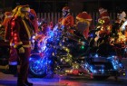 Bikers & Santa Claus For Christmas