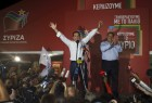 Greek leftist Alexis Tsipras stormed back into office with an unexpectedly decisive election victory on Sunday, claiming a clear mandate to steer Greece's battered economy to recovery.