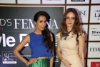 Sussanne Khan, Malaika Arora Khan, Vikas Bahl and Rocky S attend Femina Style Diva West 2015 awards.