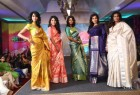Sri Palam Silks Sarees unveiled their latest concept collections for the upcoming festive season.  Mrs. Jeyasree Ravi, owner of Palam Silks, Actress Surya Ganapathy, Actress Poorthi Pravin, Sunil Menon graced the event.